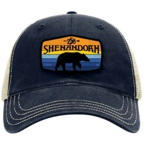 Navy Blue Shenandoah 258 Trucker Hat